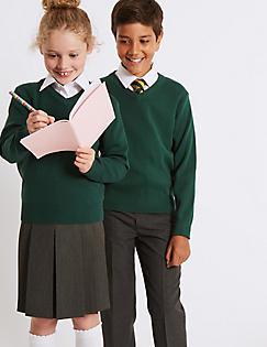 uniformes scolaires fille jupe pliss e pull unisexe m s. Black Bedroom Furniture Sets. Home Design Ideas