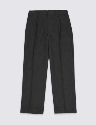 Школьные брюки для мальчика регулируемой длины с технологиями Supercrease™ и Stormwear™