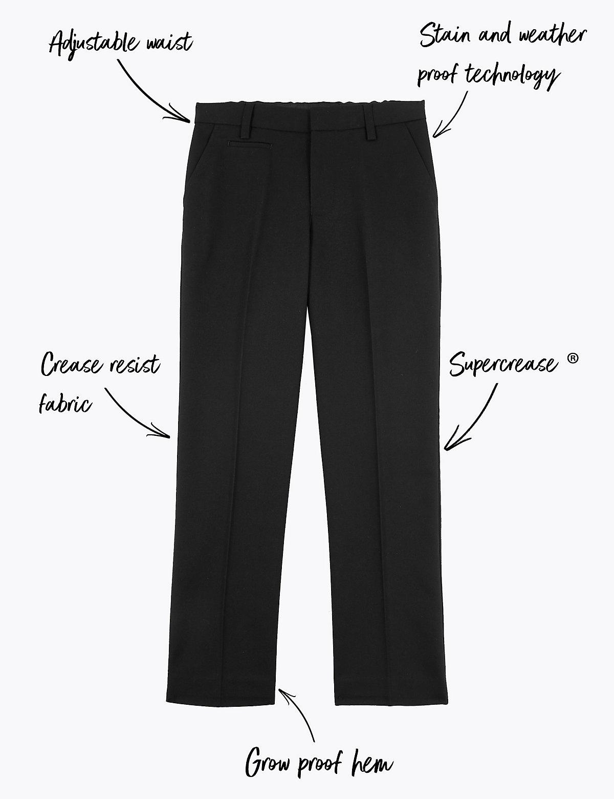 Узкие школьные брюки для мальчиков