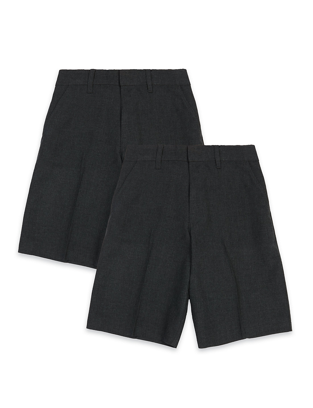 Buy your Boys School Shorts online at School Uniform Great Quality Elasticated School Shorts with pleats in a choice of slim, standard, generous fit and cargo styles. Available in Grey, Navy Blue, Black & Brown colours. We supply schools.