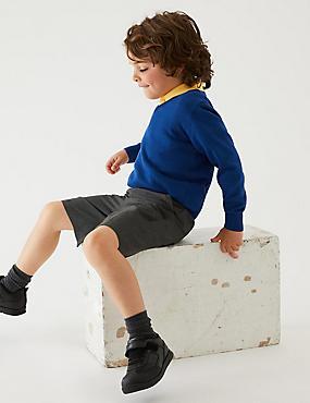 2er-Pack Shorts mit schmalem Bein für Jungen, GRAU, catlanding