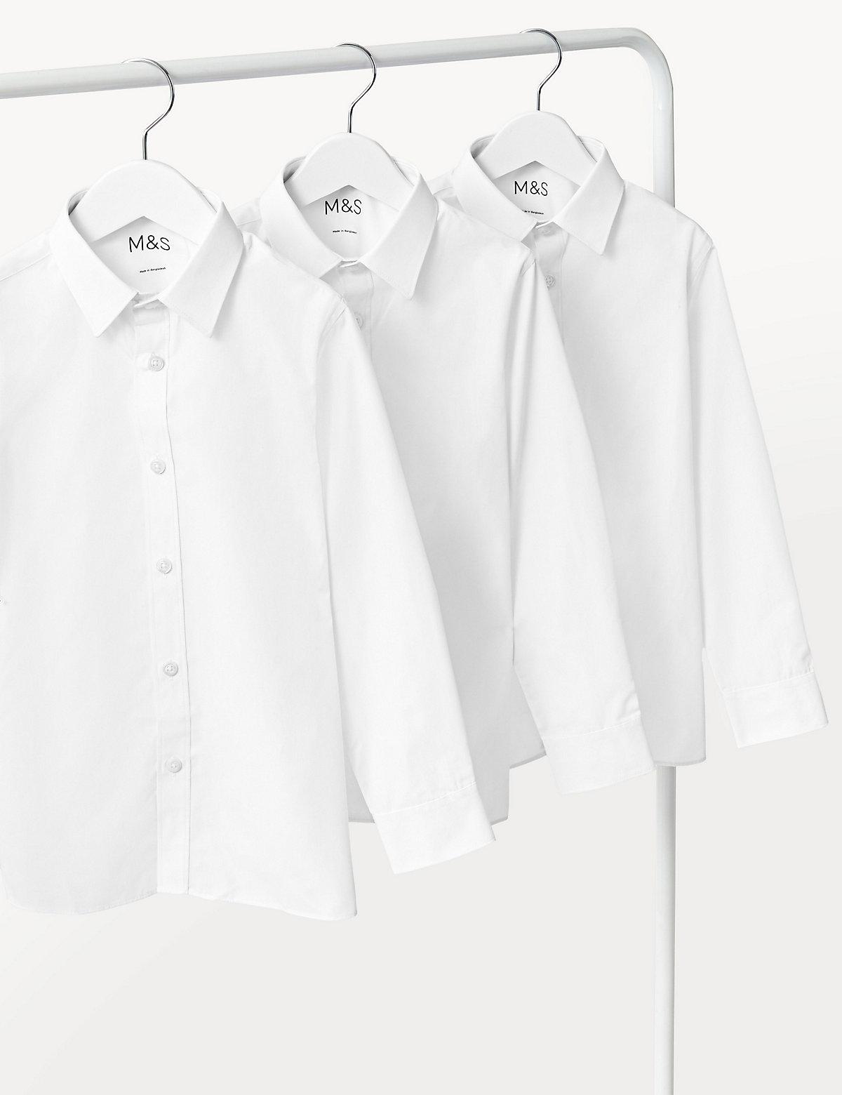 Комплект рубашек для мальчика с отделкой Easy To Iron  (3 шт.)
