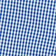 PLUS Gingham Pure Cotton Dress (2-14 Years), BLUE, swatch