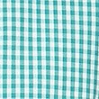 Plus Fit Classic Summer Gingham Check Dress, GREEN, swatch