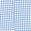 Girls' Pleated Gingham Dress, BLUE, swatch