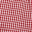 2 Pack Girls' Easy to Iron Checked Dress, RED, swatch
