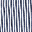 Girls' Classic Summer Striped Dress, NAVY, swatch