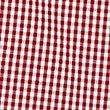 Classic Summer Gingham Check Dress, RED, swatch