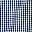 Girls' Classic Summer Gingham Dress, NAVY, swatch