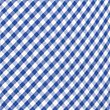 Girls' Pure Cotton Non-Iron Gingham Dress, BLUE, swatch