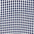 Gingham Pleated Dress (2-14 Years), NAVY, swatch
