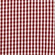 Girls' Pure Cotton Non-Iron Gingham Dress, RED, swatch