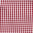 Girls' Pure Cotton Classic Checked Dress, RED, swatch