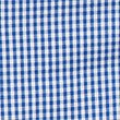 Girls' Pure Cotton Classic Checked Dress, BLUE, swatch