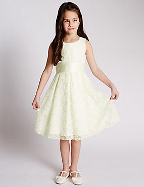 Floral Lace Dress (1-7 Years)