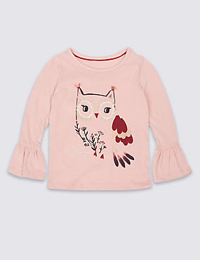 Pure Cotton Top (3 Months - 6 Years), PINK MIX, catlanding