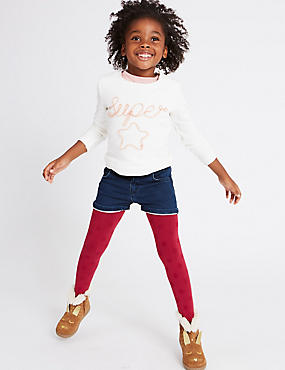 Cotton Rich Shorts (3 Months - 5 Years), DENIM, catlanding