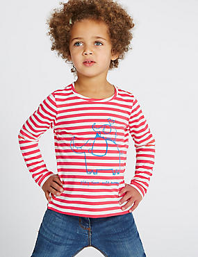 Pure Cotton Top (3 Months - 5 Years), RED, catlanding