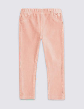 Cotton Rich Cord Jeggings (3 Months - 5 Years), LIGHT PINK, catlanding