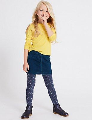 Denim Skirt (3 Months - 5 Years), DENIM, catlanding