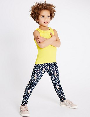 Cotton Rich Peppa Pig™ Jeggings (1-5 Years), BLUE, catlanding