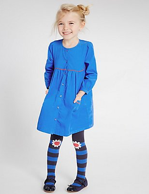 2 Piece Cord Dress (3 Months - 5 Years), BLUE, catlanding