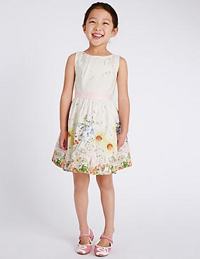 Pure Cotton Fairy Theme Prom Dress (1-7 Years)