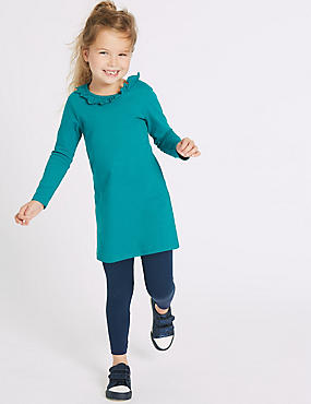 2 Piece Top with Leggings Outfit (3 Months - 6 Years), GREEN MIX, catlanding