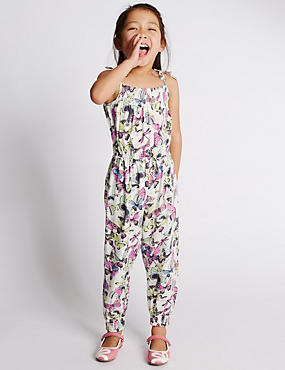 Butterfly Print Jumpsuit (1-7 Years)