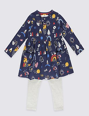 2 Piece Outfit (3 Months - 5 Years), NAVY, catlanding