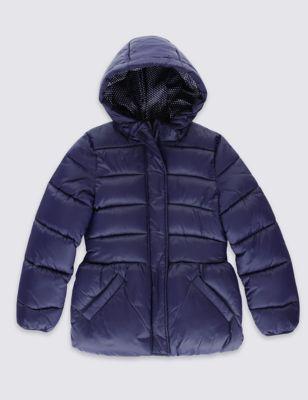 Утеплённое пальто Stormwear™ с капюшоном для девочки 1-7 лет
