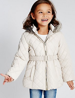 Padded Coat with Stormwear™ (1-7 Years), CHAMPAGNE, catlanding