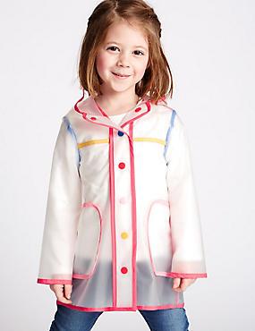 Hooded Raincoat (3 Months - 5 Years), MULTI, catlanding