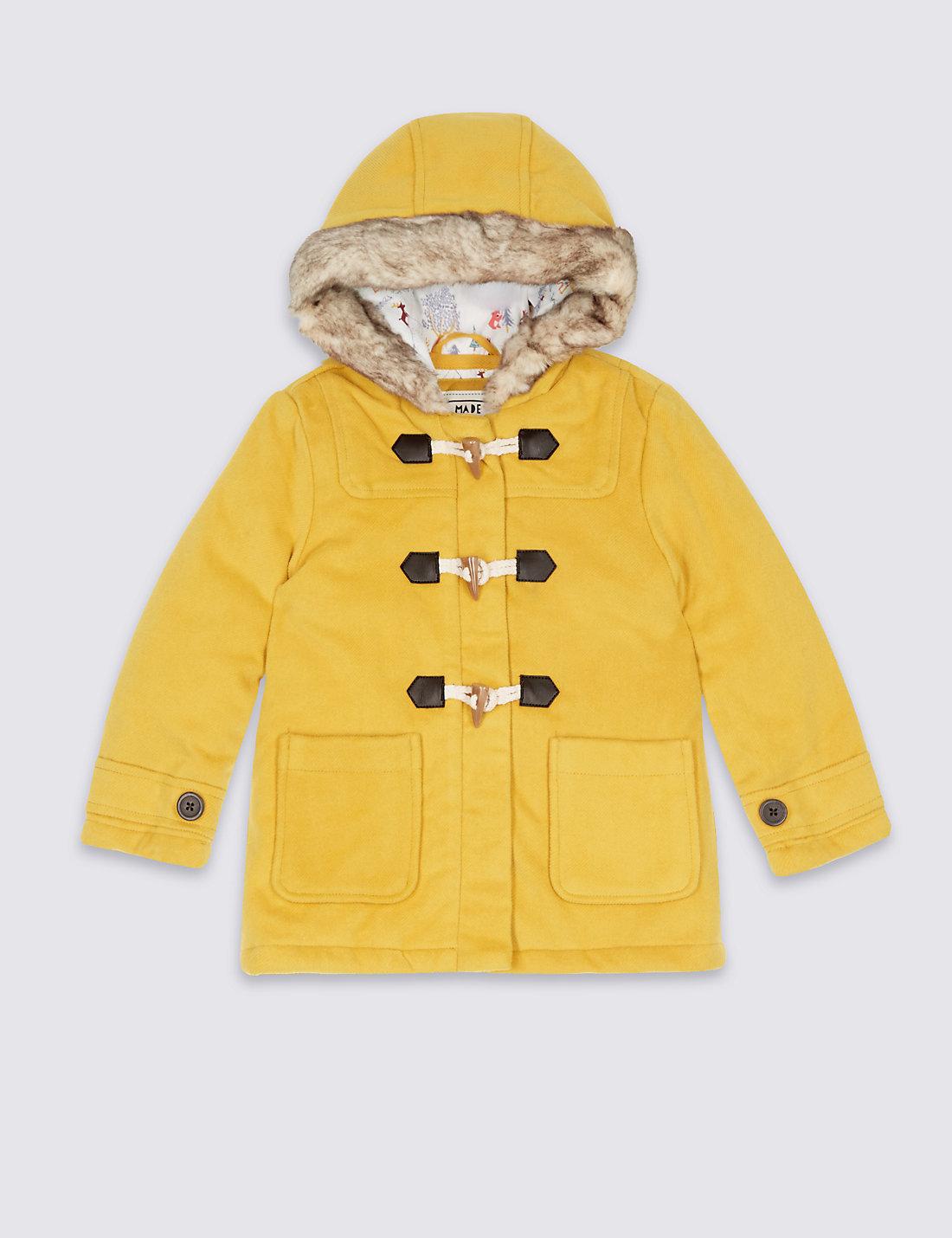 Yellow Baby Coats & Snowsuits | M&S