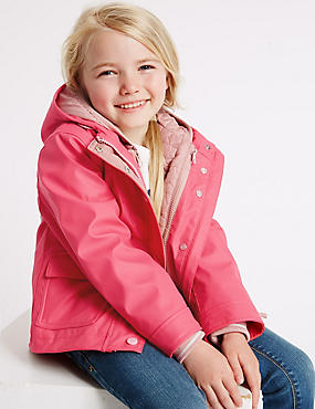 3 in 1 Fisherman Coat with Stormwear™ (3 Months - 7 Years), PINK, catlanding