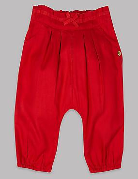 Hose mit elastischem Bund, MITTELROT, catlanding