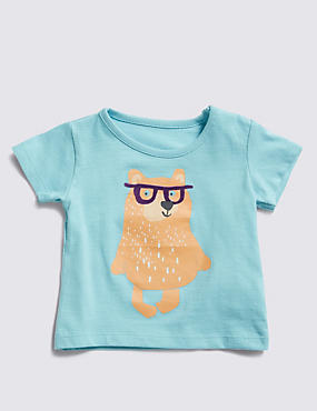 Pure Cotton Bear T-Shirt