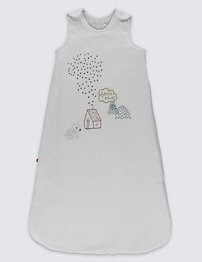 Gigoteuse à motif ours brodé, indice de chaleur2,2, MULTI, catlanding