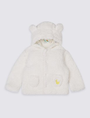 Fleece Jacket, WINTER WHITE, catlanding