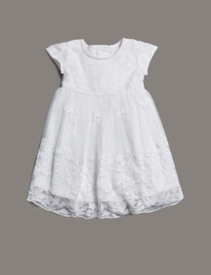 Lace Christening Dress M Amp S