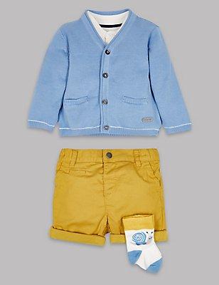 4 Piece Outfit, BLUE MIX, catlanding