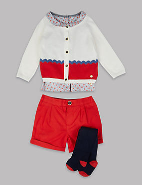 4 Piece Outfit , RED MIX, catlanding
