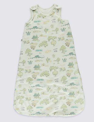 Winnie the Pooh 1.2 Tog Baby Sleeping Bag, WHITE MIX, catlanding