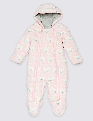 All Over Print Pramsuit, PINK MIX, catlanding