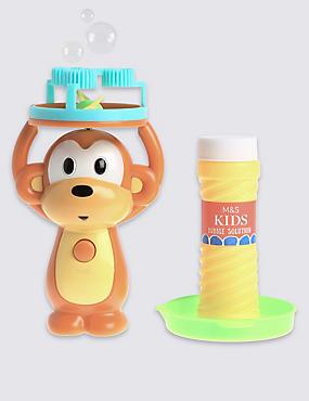 Monkey Bubble Blower, , catlanding