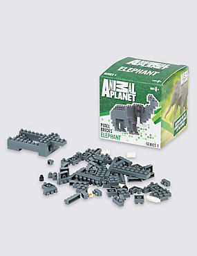 Elephant Pixel Bricks, , catlanding