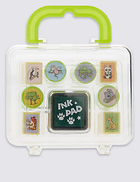 Animal Stamp Kit, , catlanding