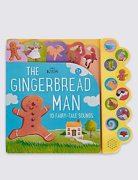 10 Button Sound Gingerbread Man, , catlanding