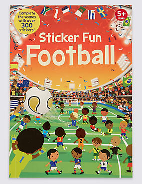 Sticker Football Book, , catlanding