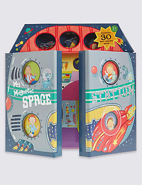 Magnetic Space Station Book, , catlanding
